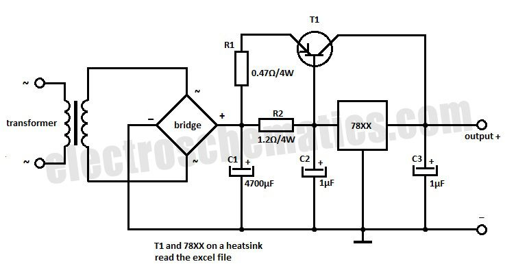 voltage limiter for guitar amplifiers