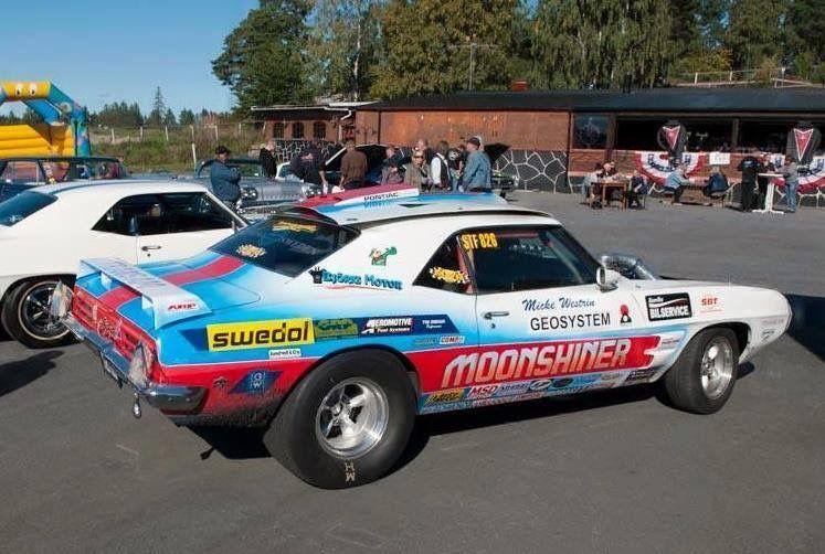 Pontiac 1969 Trans Am Drag racing cars, Drag racing