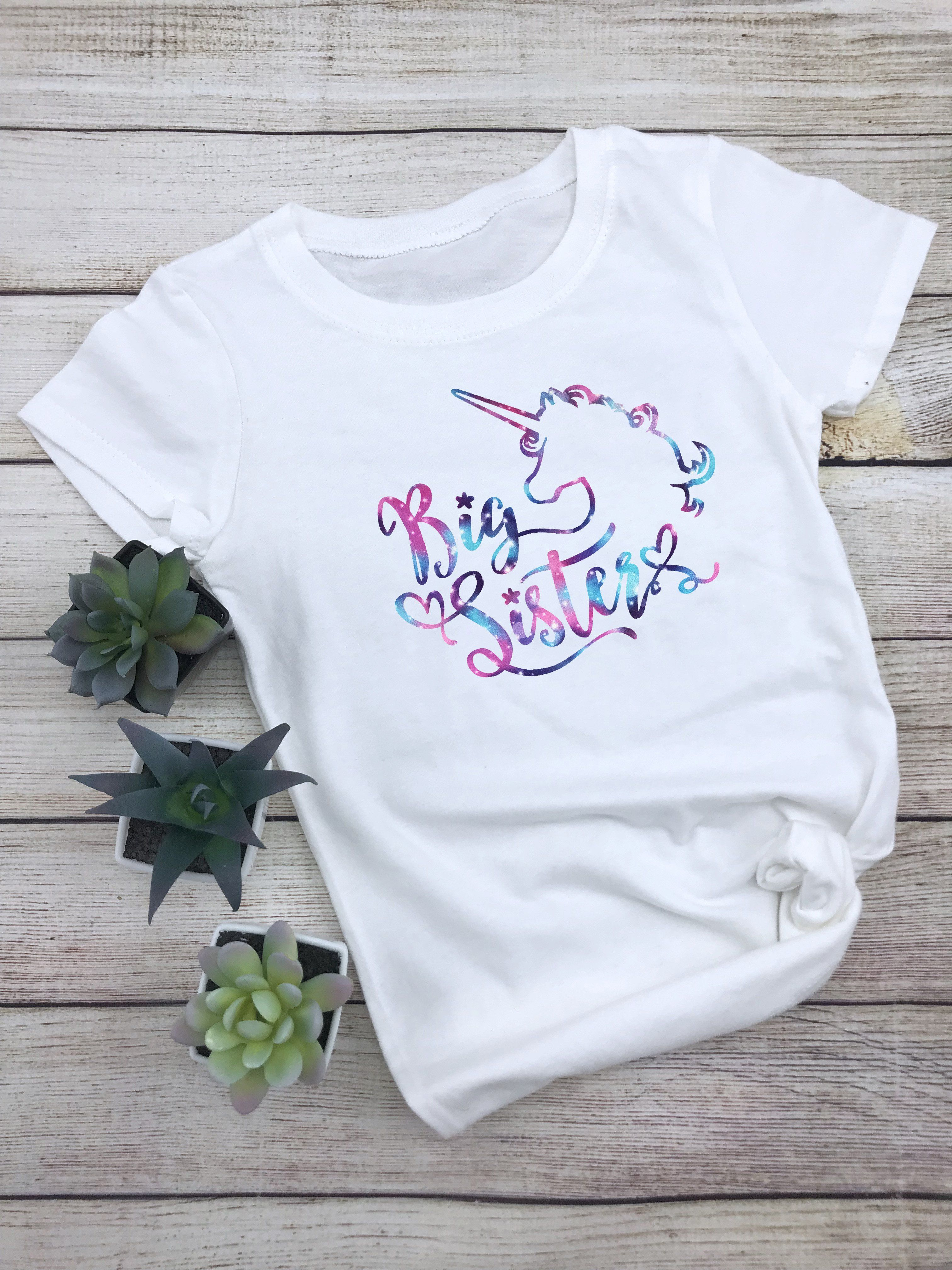 c4a8cfaada34 Big Sister - Unicorn T-Shirt