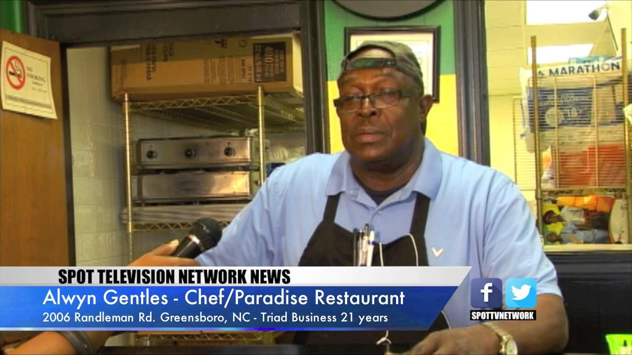 Paradise West Indian Restaurant On Spottv 20years West Indian Television Network Restaurant