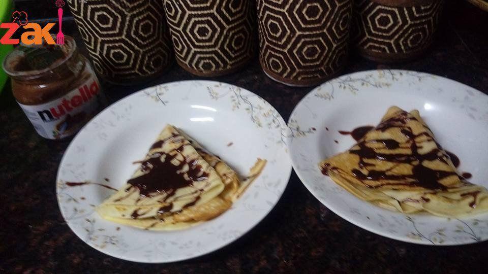 طريقة كريب النوتيلا زاكي Sweet Pastries Best Dishes Food