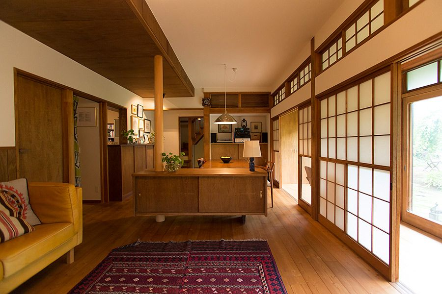 庭と縁側と照明現代になじむ日本家屋の静謐 画像あり 現代日本