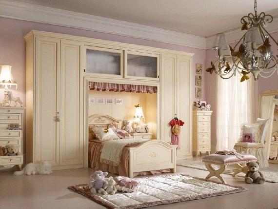 Luxury Teenage Girls Bedroom With Wonderful Bright Color Ideas,  dream room!