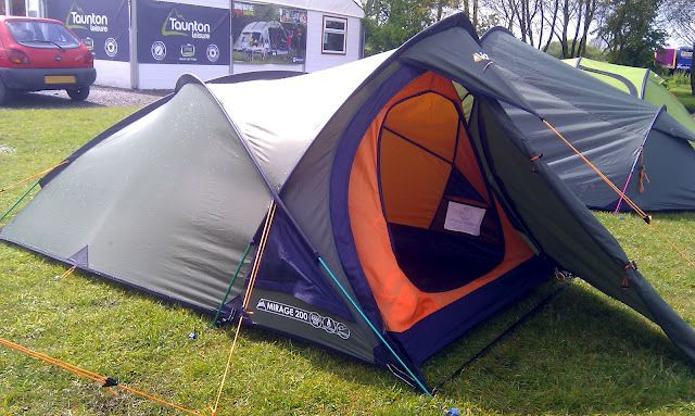 #Vango Mirage 200 - A three pole semi geodesic design which is free standing ideal when on terrain that you may not be able to peg the tent into ... & Vango Mirage 200 - A three pole semi geodesic design which is ...