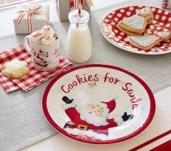 Christmas Table Decorations & Christmas Dinnerware | Pottery Barn ...