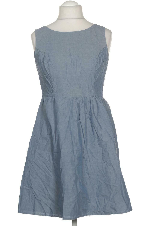 Orsay Kleid Damen Dress Damenkleid Gr. DE 10 Baumwolle blau