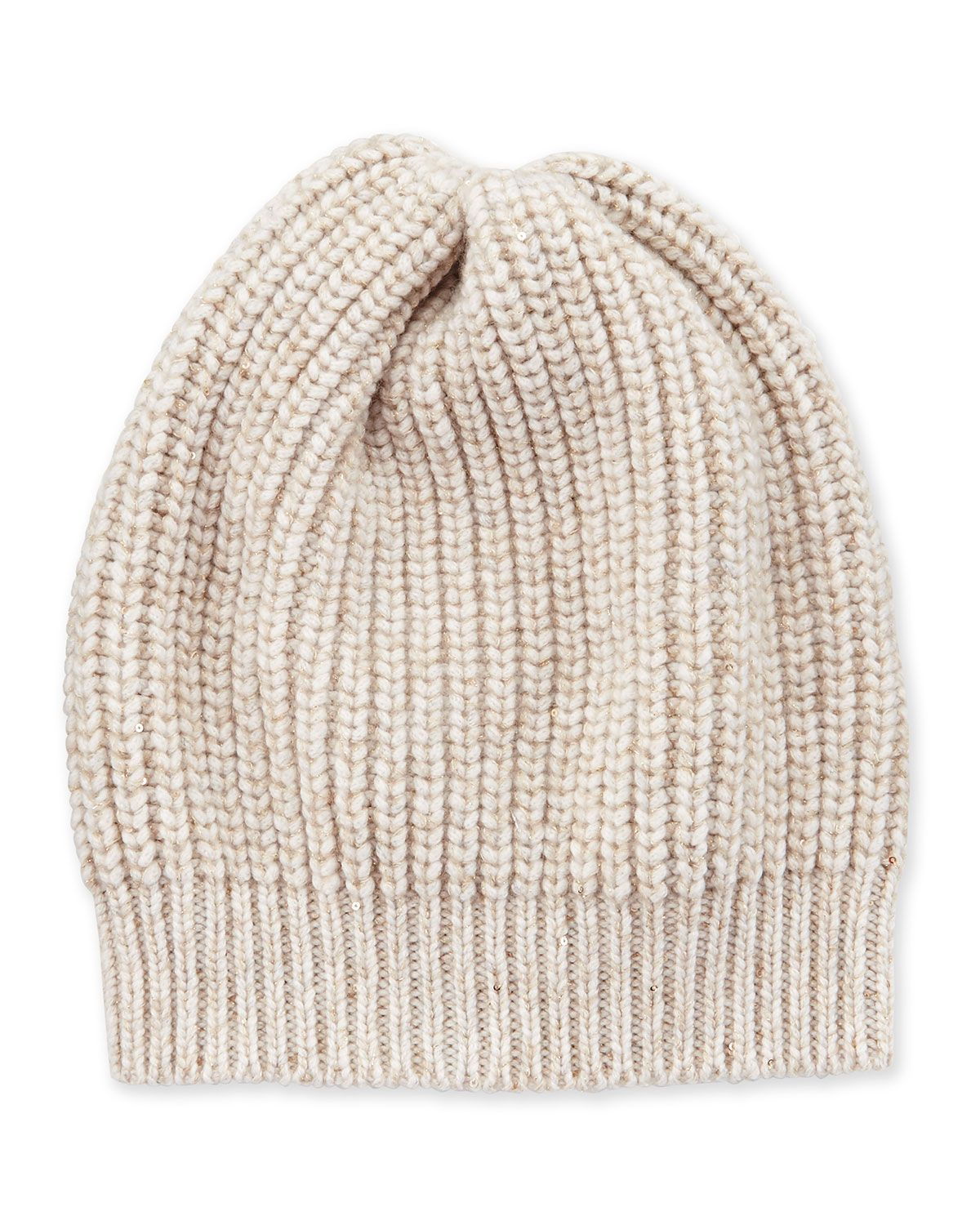 Cable-knit Cashmere Beanie Brunello Cucinelli sIdHjXlLF2