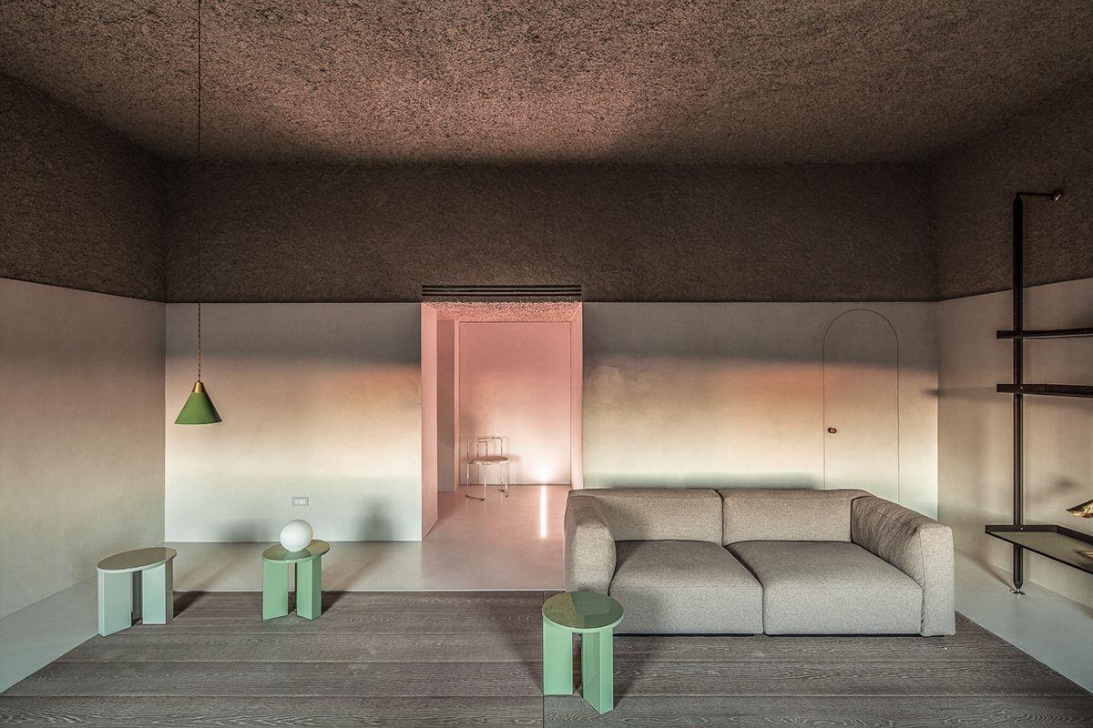 Von rosa Dunst und rauhen Decken   www.iconist.de   Moderne ...