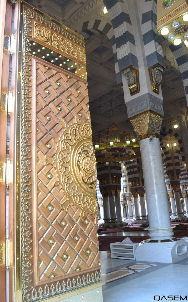باب المسجد النبوي الشريف Mecca Wallpaper Islamic Architecture Beautiful Mosques