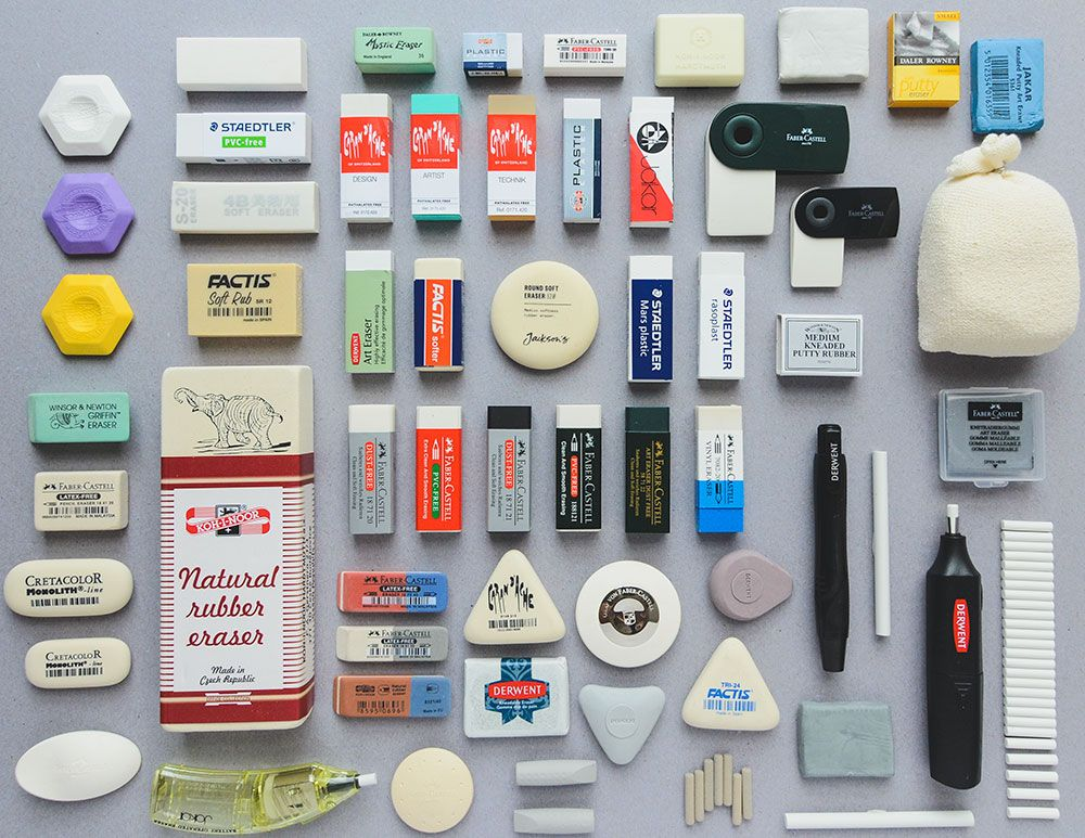 Choosing A Rubber Comparing Erasers Jackson S Art Eraser