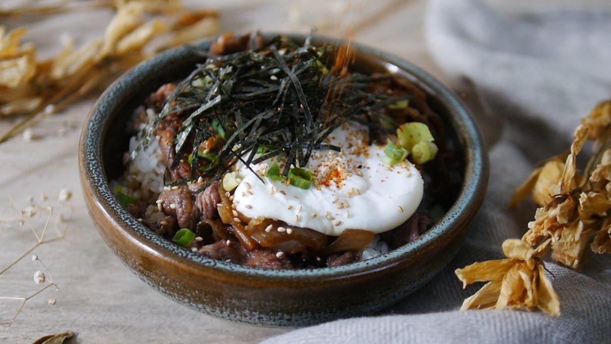 A Day Recipes for #Single:一個人開伙的快手料理 – 壽喜燒牛丼飯 – [ Heng & Petrina 專欄 ] 6