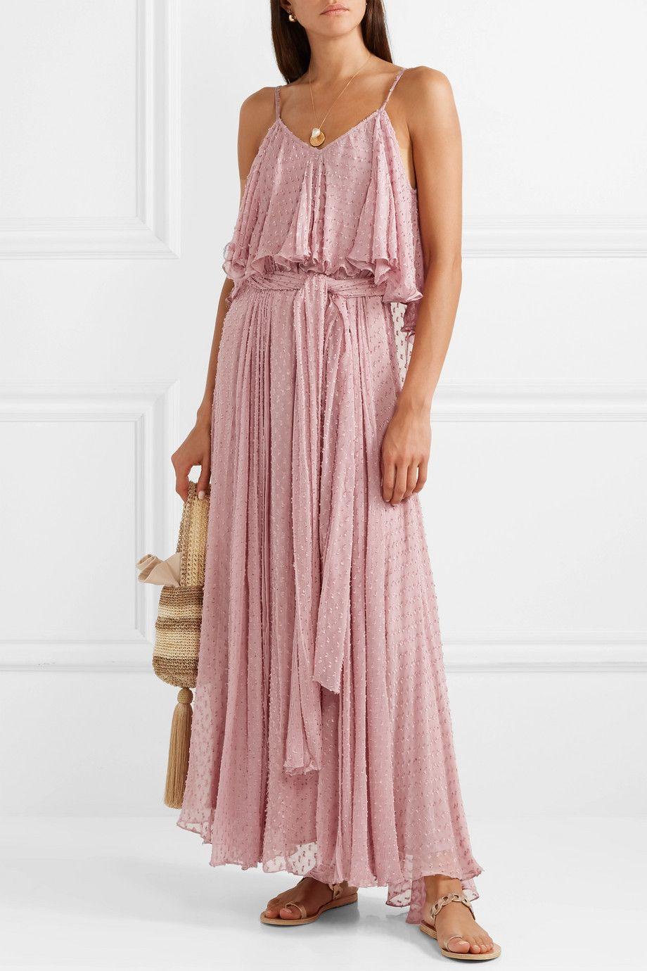 Mes Demoiselles Donatella Fil Coupe Georgette Maxi Dress Net A Porter Com Gauze Maxi Dress Maxi Dress Maxi Dress Sale [ 1380 x 920 Pixel ]
