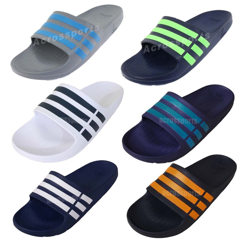 b48b36f58 Adidas Duramo Slide Mens Classic Sports Slippers Sandals Slip On Pick 1  http