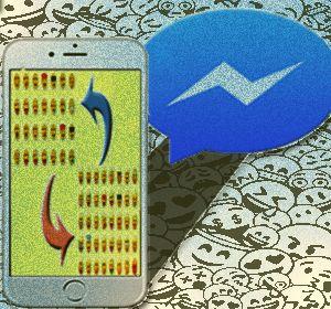 Ios Cara Mengubah Emoji Standar Di Aplikasi Facebook Messenger Dengan Emoji Bawaan Ponsel Ios Emoji Facebook