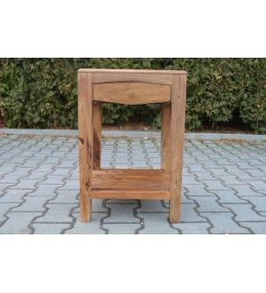 indyjski drewniany stolik 437