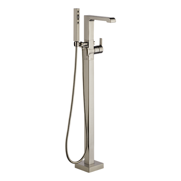 T4767 Ssfl Freestanding Tub Faucet Tub Filler Freestanding Bathtub Faucet