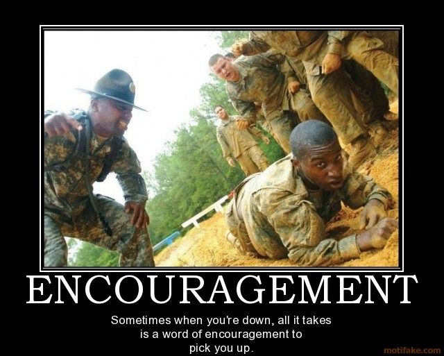 Funny Memes For Encouragement : Marine boot camp encouragement marines boot camp encouragement