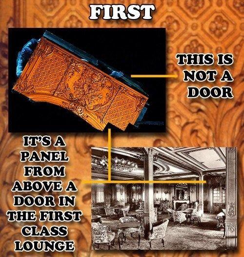 IT WASN'T A DOOR: