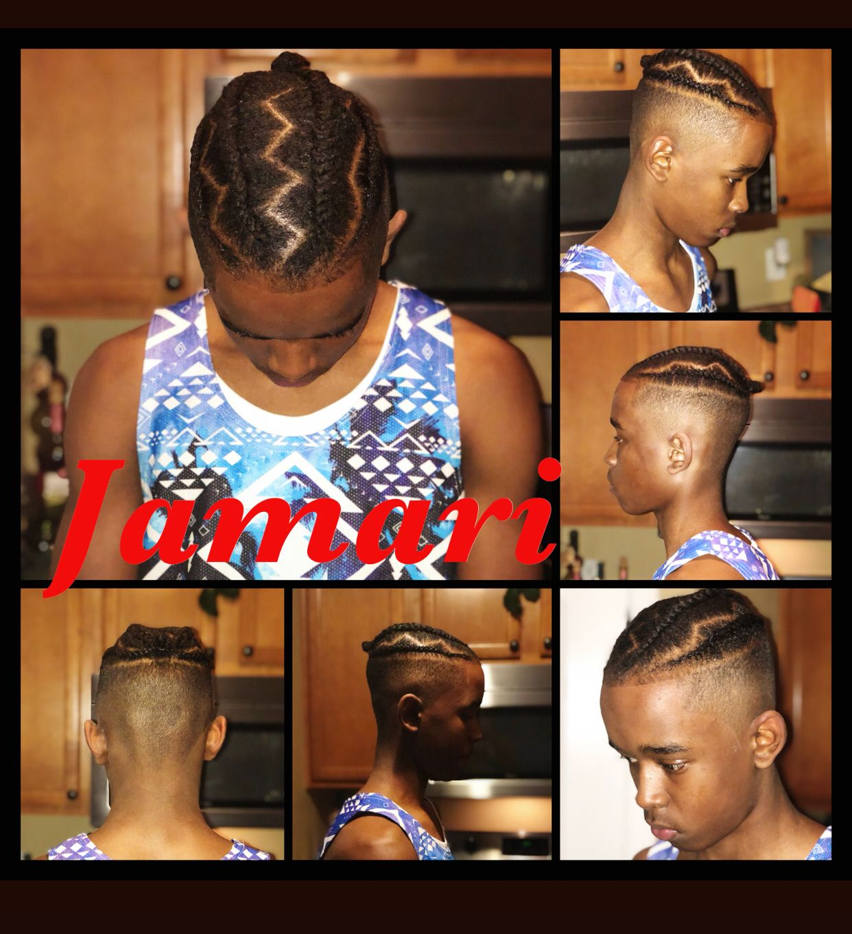 Jamarius braids hair pinterest