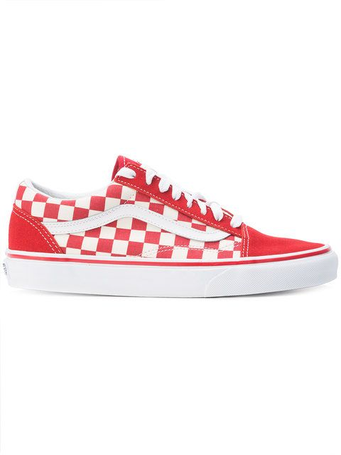 7c8eabc0a41 VANS Checkered Lace-Up Sneakers.  vans  shoes  flats