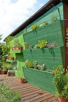 vertical patio garden
