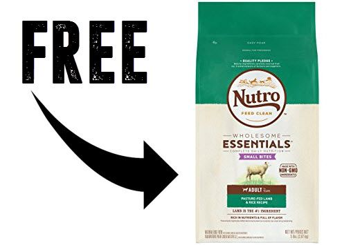 FREE 5 Lb. Bag of Nutro Dog or Cat Food at Petco Stores
