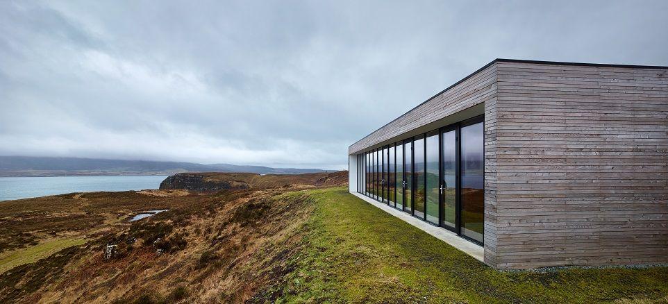 Modern Architecture Scotland cliff house, galtrigill, isle of skye | preferred futures
