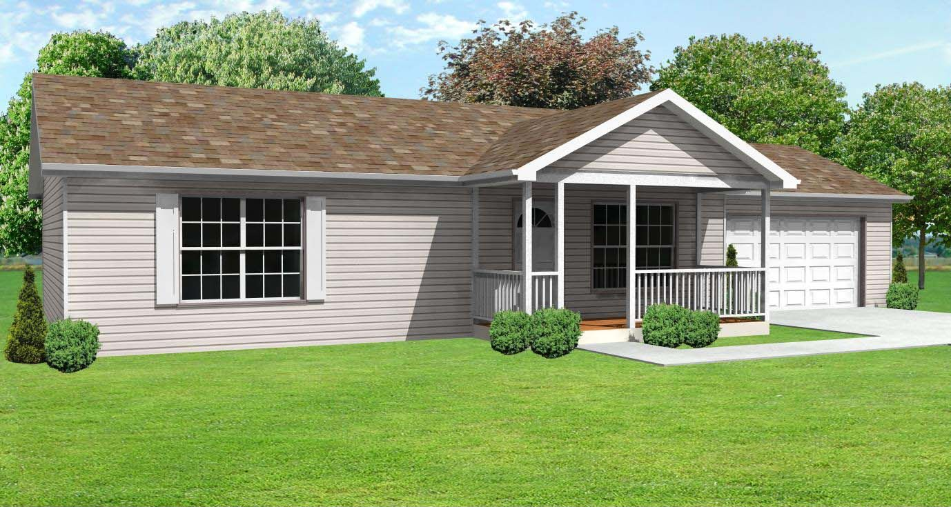Pictures a plain and simple home house house plan is for Small starter house plans