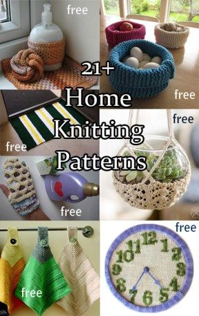 146795220bee Household Knitting Patterns