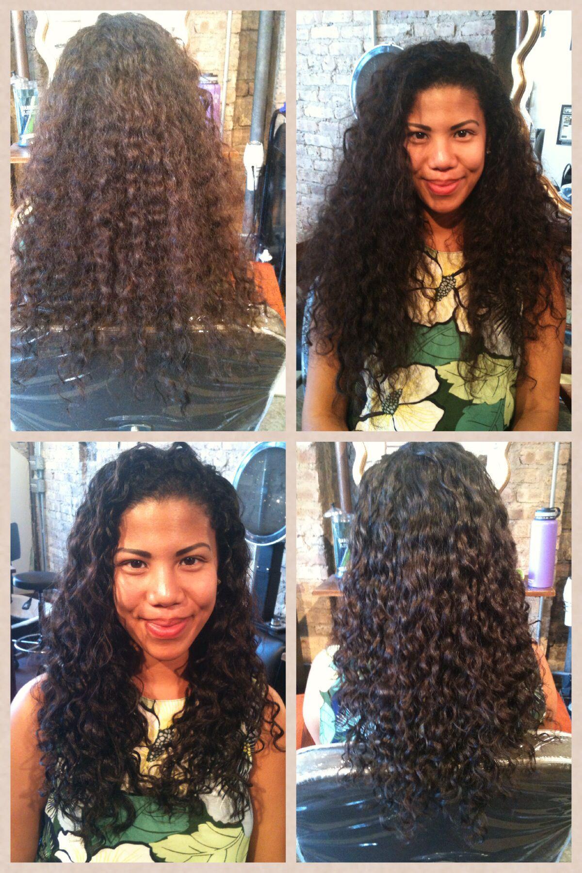 Deva Cut Before And After I Want A Deva Cut Curlspiration