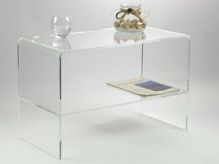 Leibnitz Acrylglas Beistelltisch Mit Praktischem Zwischenboden In Zeitlosem Design Mit Harmonisch Gebog Online Mobel Mobel Online Kaufen Acryl Beistelltisch