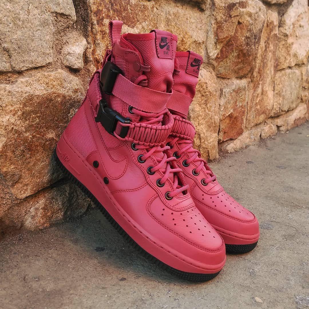 Nike Air Force 1 SF AF1 Oxy Blood Black Size Man Precio