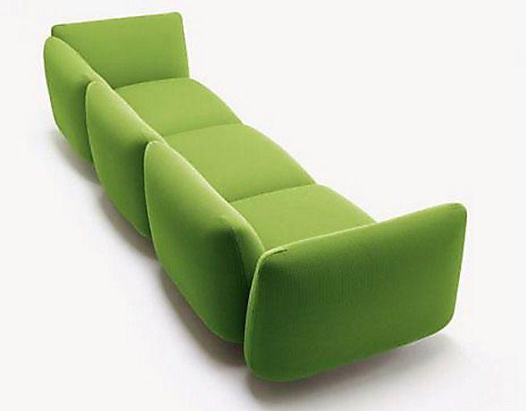 Green Baby Sofa Collection by Adrenalina