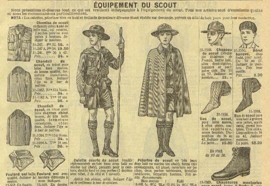 Équipement du scout