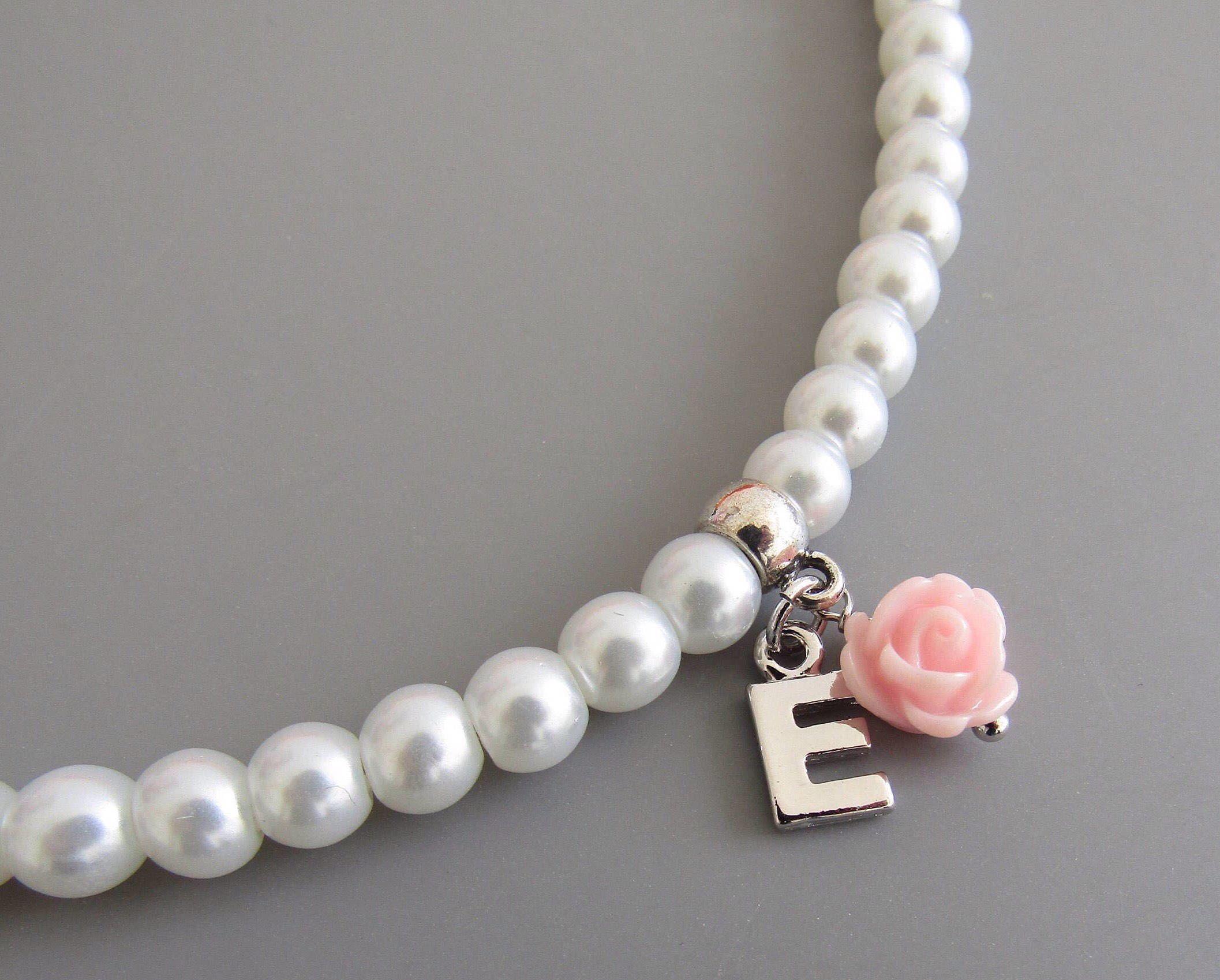 Flower girl necklace flower girl gift flower girl jewelry