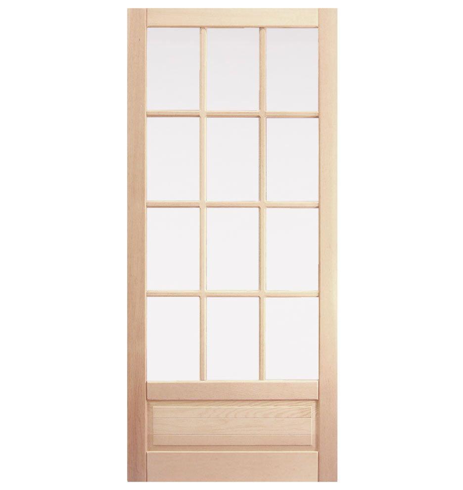 12 Light Screen Door In Douglas Fir Replacement Screen Door That Would  Match Our Storm