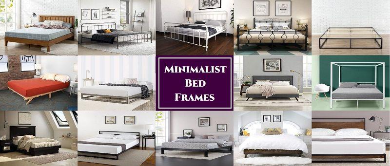 Best Minimalist Bed Frame 2020 Complete Guide Best Deals