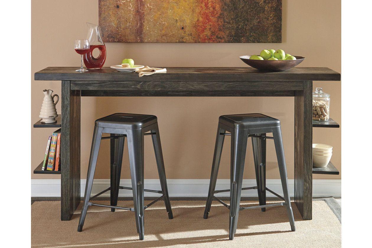 Lamoille Long Counter Table Ashley Furniture Homestore
