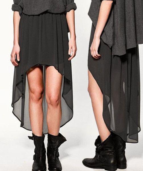 Irregular skirt (more colours)