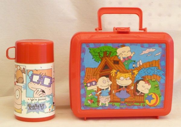 24690751f0 Rugrats lunch box and little packed lunches. Very fond memories from  childhood.