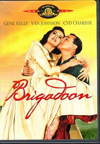 Brigadoon (1954) Two Americans on a hunting trip in Scotland become lost. They encounter a small village, not on the map, called Brigadoon, in which people harbor a mysterious secret, and behave as if they were still living two hundred years in the past. Gene Kelly, Van Johnson, Cyd Charisse...musical