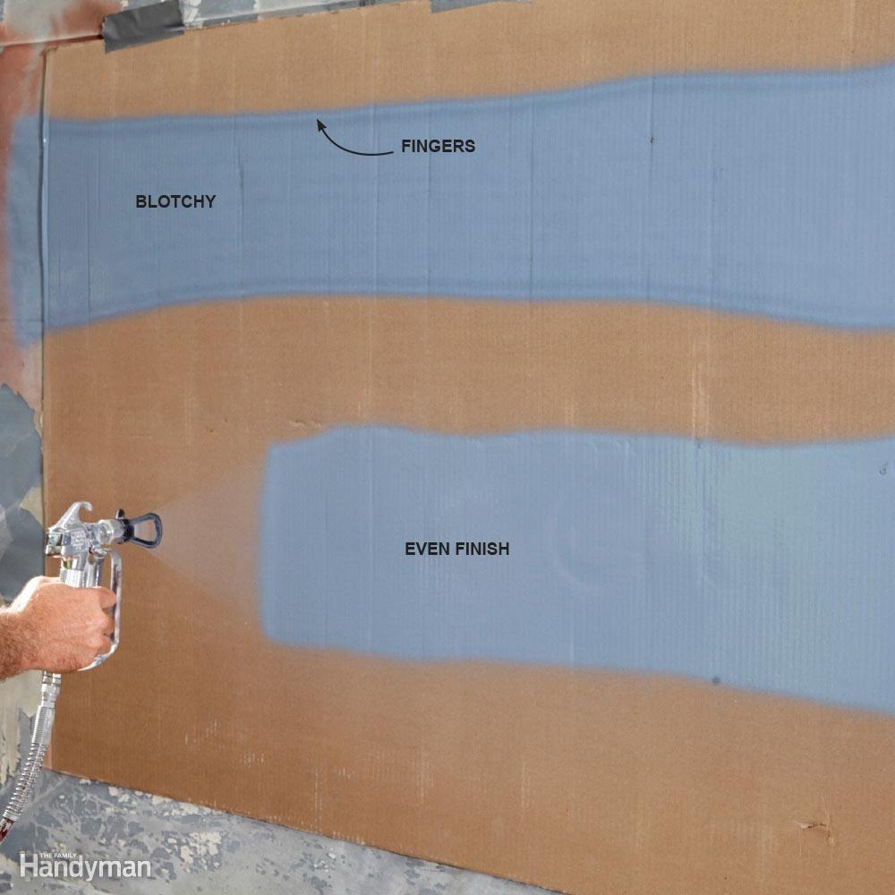 Airless Paint Sprayer Tips For Exterior Paint Jobs Paint Sprayer