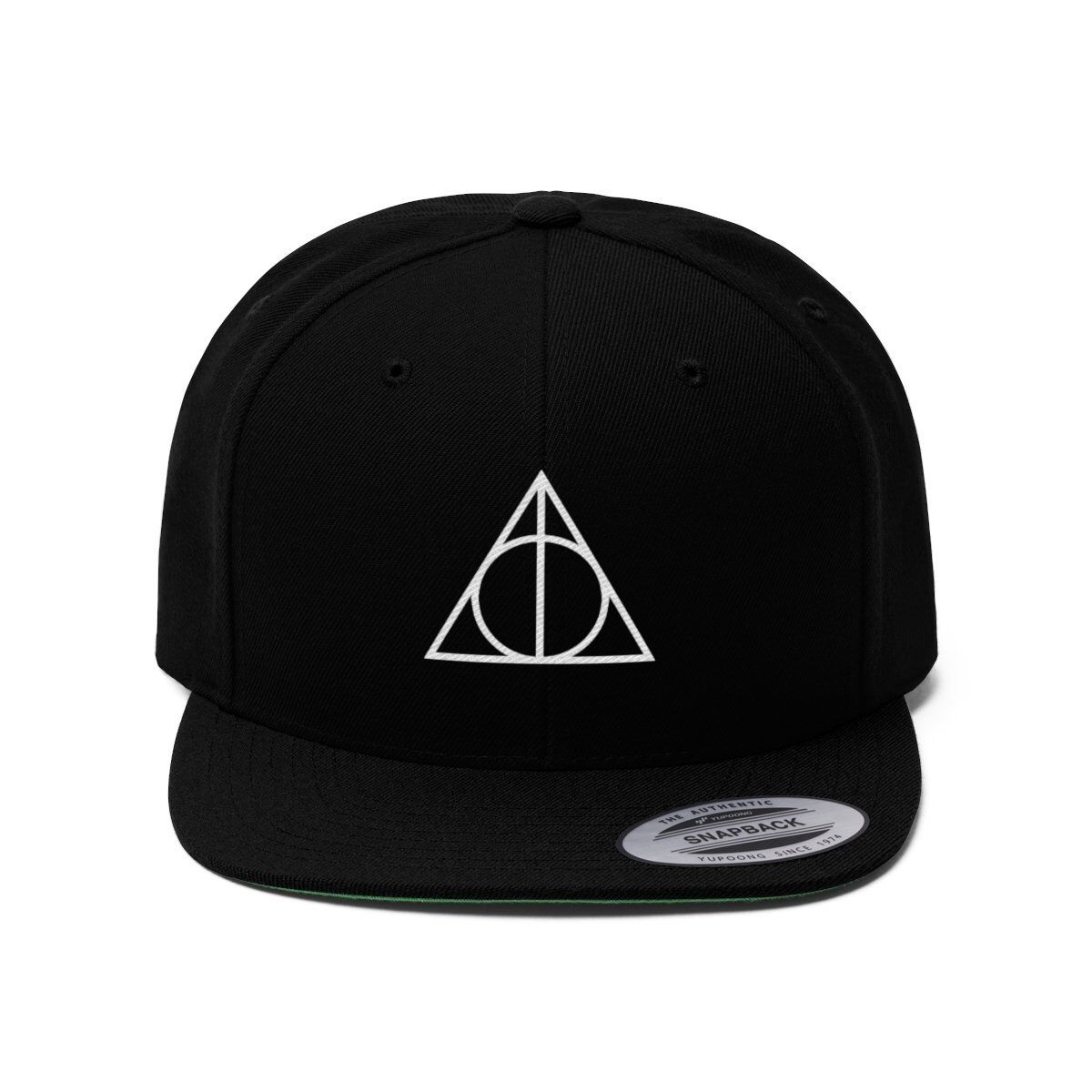c5d44714551 Embroidered Harry Potter Inspired Flat Bill Hat