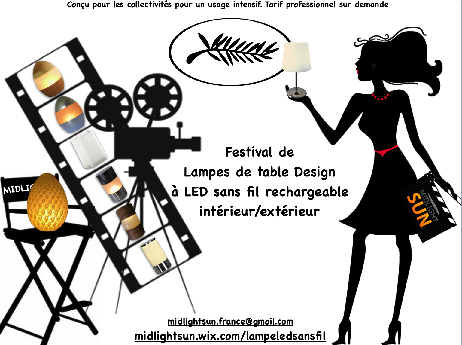 Lampe De Table Exterieur Rechargeable Festival De Lampes De Table Design Sans Fil Led