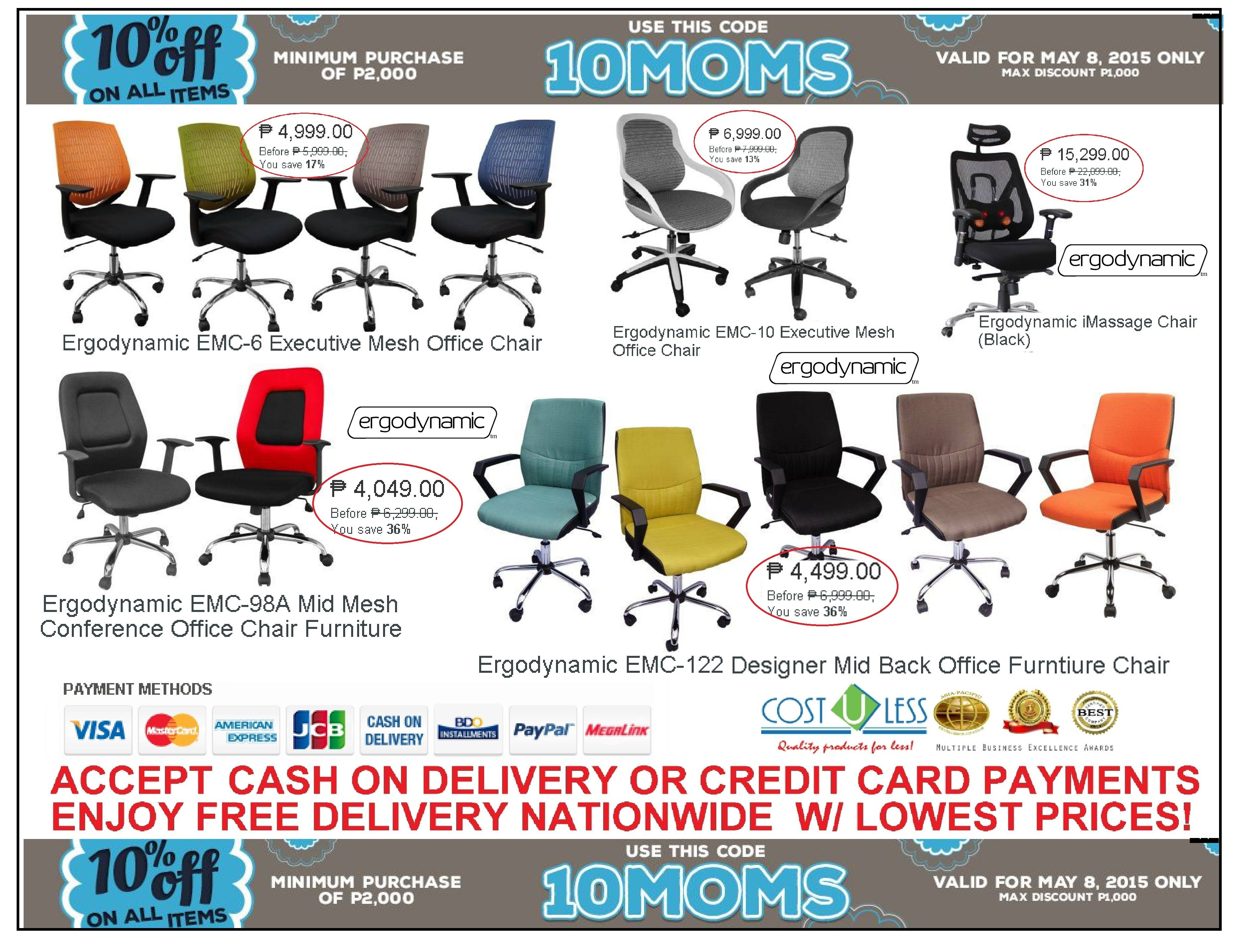 Mother S Day Lazada Online Take 10 Off On Office Chair