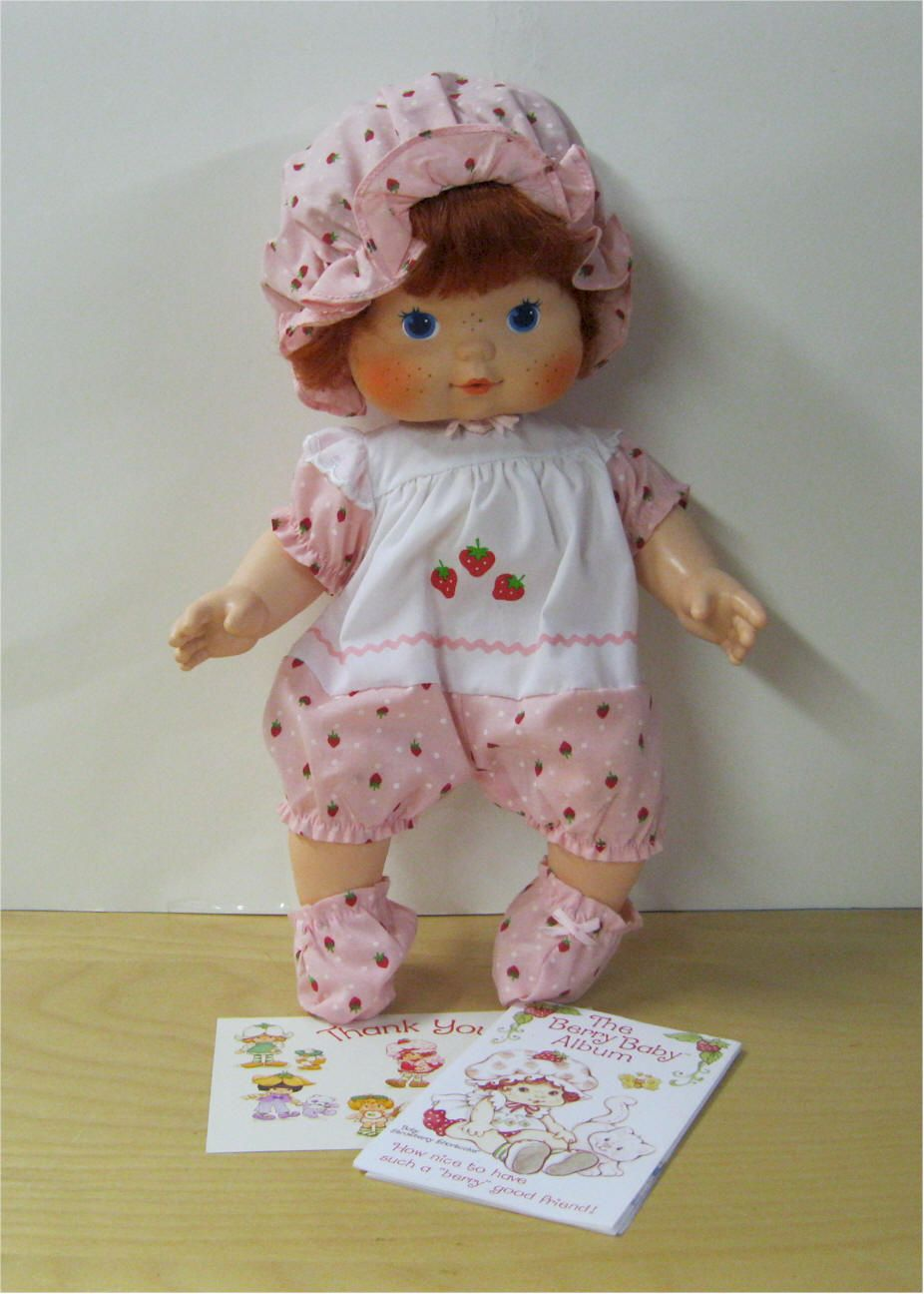 Strawberry Shortcake Blow Kiss Doll I Had One Of These When You