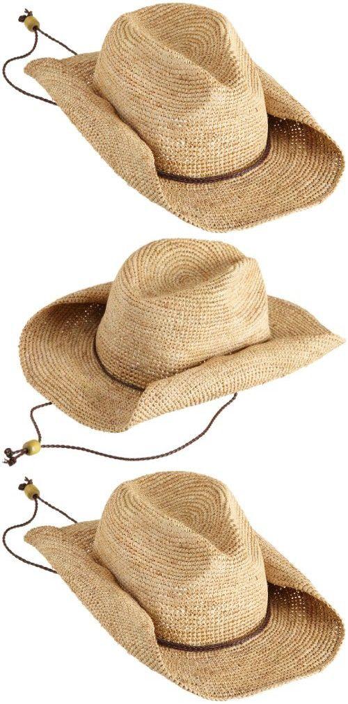 030bf7dfced92 San Diego Women s Crocheted Raffia Cowboy Hat