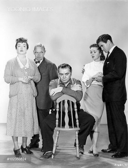 Bette Davis Ernest Borgnine Debbie Reynolds In The Catered Affair