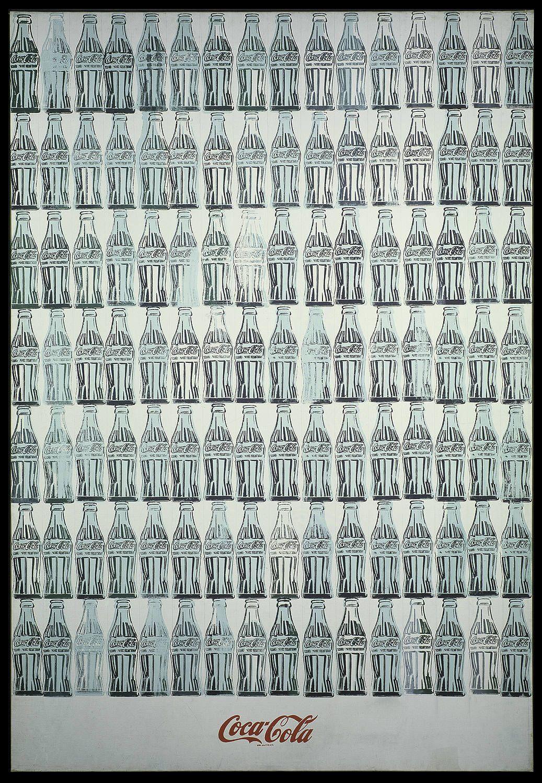 Green Coca Cola Bottles 1962. Leo Sobre Lienzo 208 9 X 144 8 Cm. York Collection Of