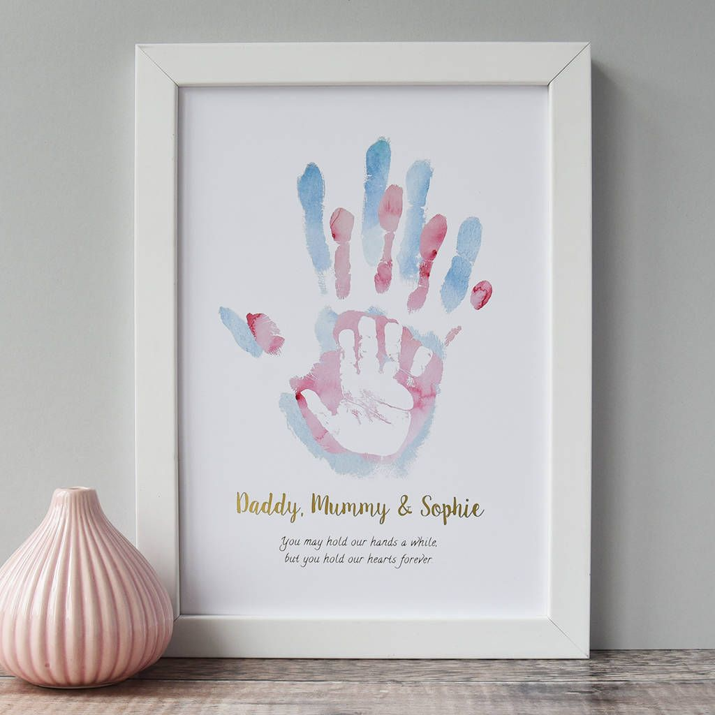 baby art #baby Are you interested in our childs handprint art print With our personalised childrens print for nursery you need look no further.